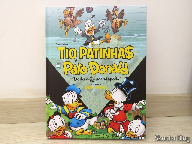 Scrooge McDuck and Donald Duck - Time to Quadradópolis - Don Rosa Library