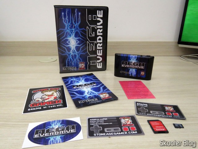 Mega EverDrive X 7 - Deluxe Edition and all accessories.