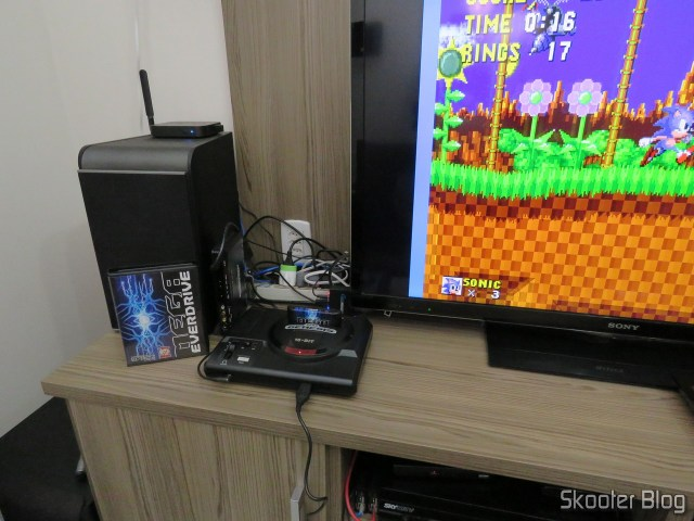 Mega EverDrive X 7 - Deluxe Edition, operation.