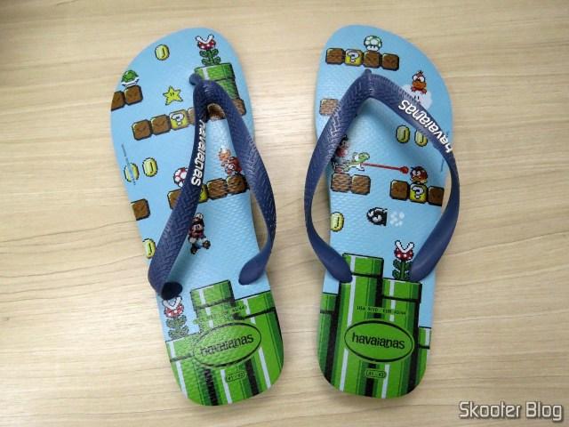 Havaianas Mario Bros