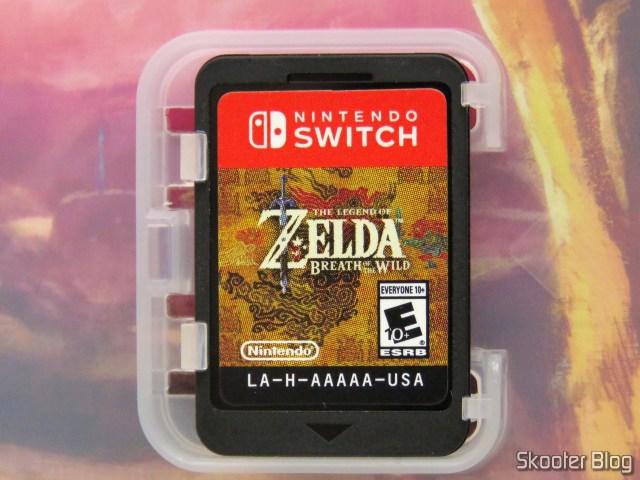 Cartucho do The Legend of Zelda: Breath of the Wild - Nintendo Switch.