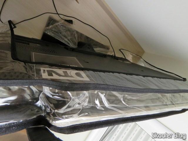 Capa para TV LCD, LED, Plasma em PVC Transparente Impermeável na TV SonyKDL-46HX755.