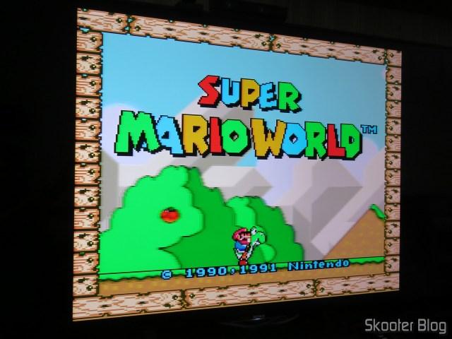 Super Nintendo at Sony XBR-55X905E.