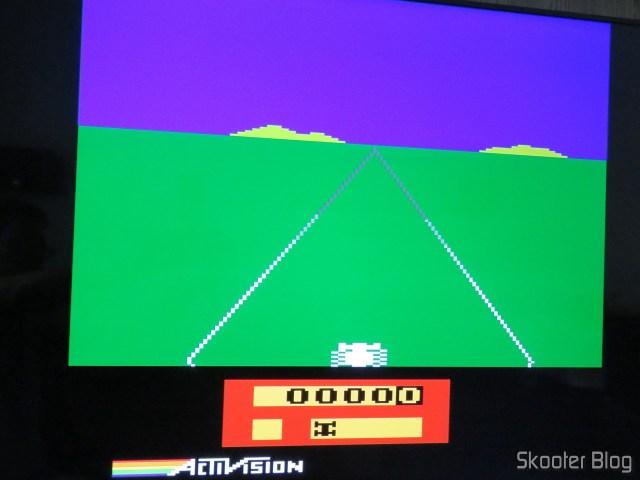 Atari 2600 the Sony XBR-55X905E.