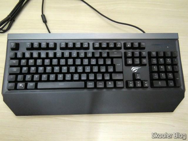 Mechanical Keyboard Jus HV-KB370L RGB.