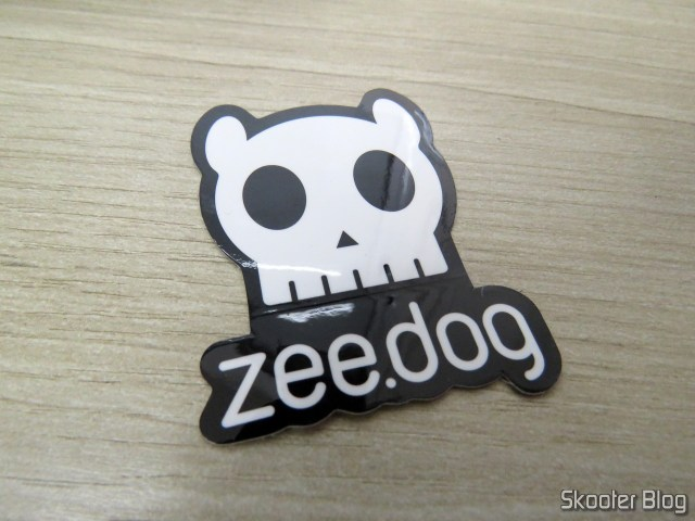 Sticker that accompanies the Breastplate for dogs Zee. Dog Mesh Plus Star Wars Darth Vader M.