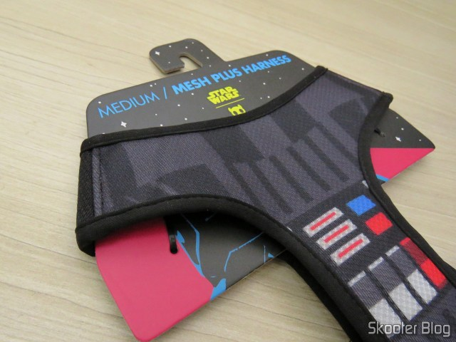 Peitoral para Cachorros Zee.Dog Mesh Plus Star Wars Darth Vader M.