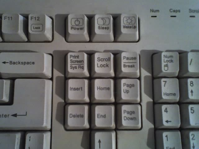 Bizarre keyboards that emerged at the time of Windows 95.