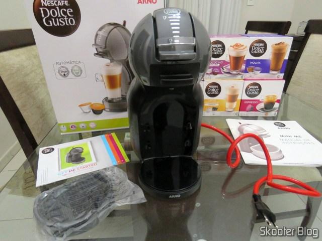 Coffee Nescafé Dolce Gusto Black Mini Me, in your package. The Coffee Nescafé Dolce Gusto Black Mini Me.