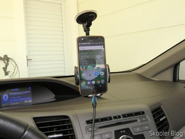 Test of Universal Car Phone holder Adjustable Cobao.
