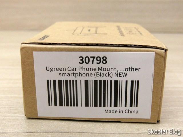 Caixa do Suporte de Celular para Carro Ugreen para Saída de Ar.