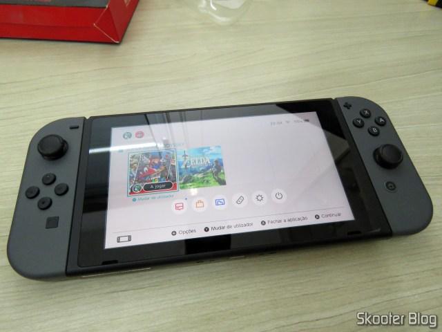 O Nintendo Switch, como veio ao mundo.