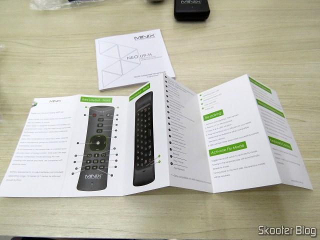 Brochures and manuals of Minix NEO U9-H.