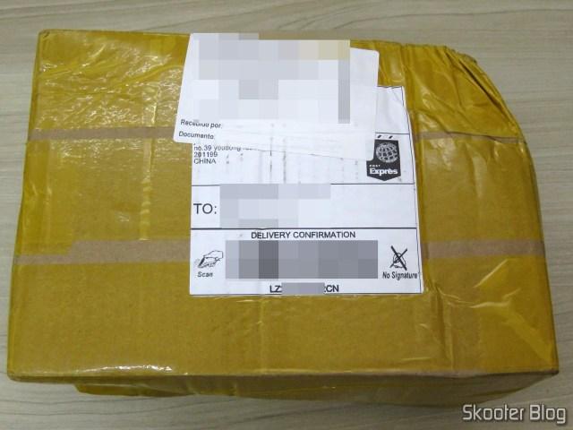 Pacote com o 2º HDD Western Digital 3.5″ Red WD40EFRX 4TB 5400RPM 64M SATA3 NAS Desktop HDD.