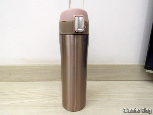 Garrafa Térmica de Aço-Inox 450ml.