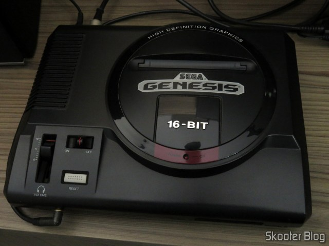 My Sega Genesis, without cover.