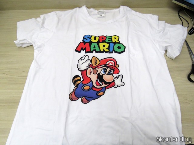 Camiseta do Super Mario.