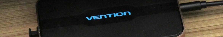 Switch HDMI Vention VAA-S20, em funcionamento.