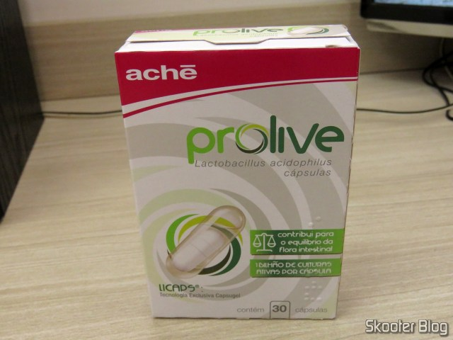 Prolive with 30 capsules.