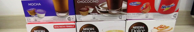 Nescafé Dolce Gusto - 3ª Remessa: 2x Nescau, Mocha, Chococino, Café Au Lait, Chococino Caramel
