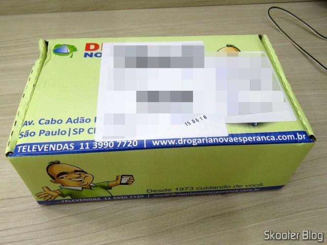 Pacote com as 4 caixas deDicloridrato de Levocetirizina 5mg com 10 comprimidos.