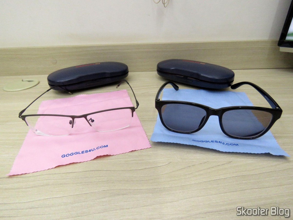 [Review] Eyeglasses Lens 1.67 Super thin and sunglasses with Degree - Goggles4U - 5# Request (replacement)
