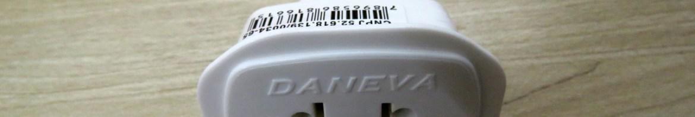 Adaptador Universal 2P+T 10A/250V~ Daneva