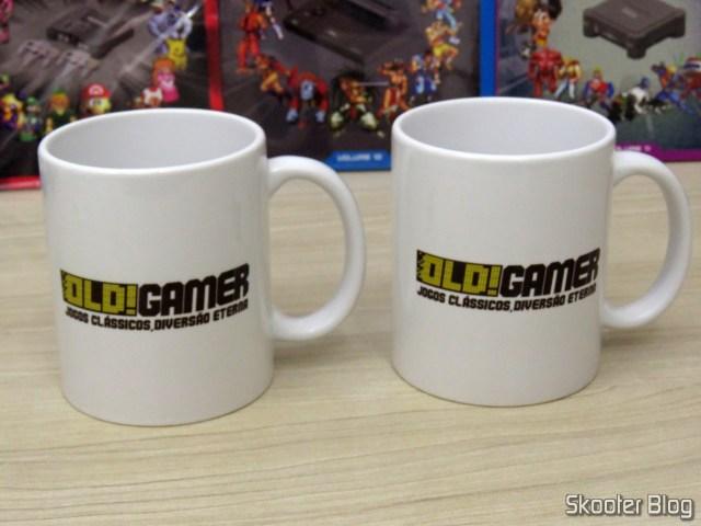 Canecas da Promoção do Dossiê Old! Gamer: Coleção Consoles - 2º Temporada
