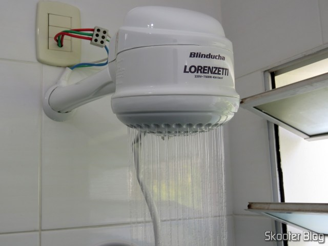 Shower Lorenzetti Blinducha Electronics, operation.