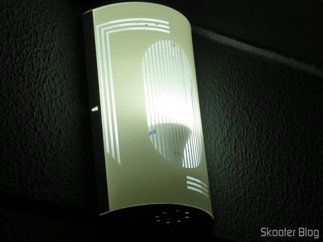 LED Bulb TKL Taschibra 100 15In 1507 Lumens Bivolt 6500 k, operation.