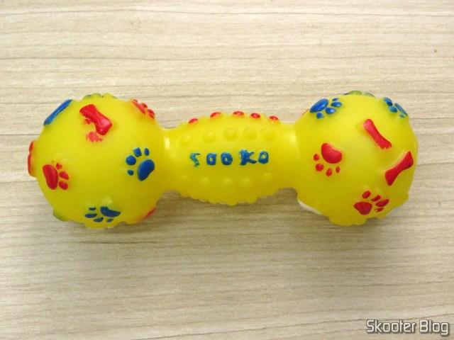 Brinquedo Halteres Bola c/ Apito