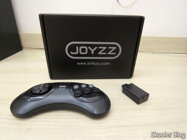 Joyzz, your receiver and your packaging.