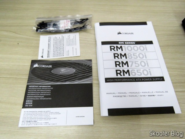 Manuals and booklets of Power Supply Corsair RMi Series ™ RM850i.
