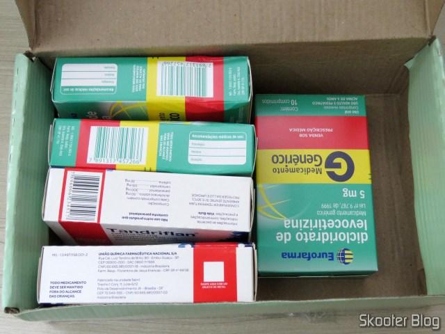 2x Tandriflan e 3x Dicloridrato de Levocetirizina - Drogaria Nova Esperança - 5º Pedido