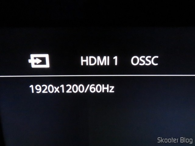 PlayStation One 240p mode, connected to OSSC.