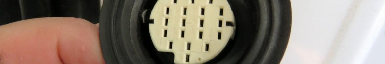 Conector de Fiação da Porta do Gol G5.