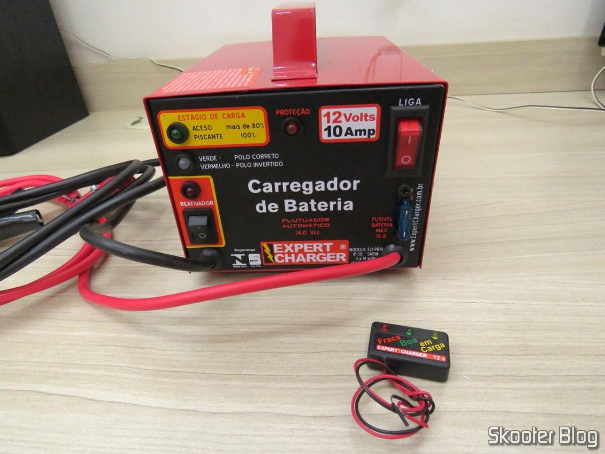 [Review] Carregador de Baterias 12V Expert Charger PR10