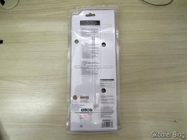 Rebitador Manual Profissional Irwin R250, em sua embalagem;