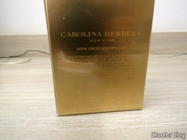Carolina Herrera by Carolina Herrera for Women Eau de Parfum Spray 3.4 oz.