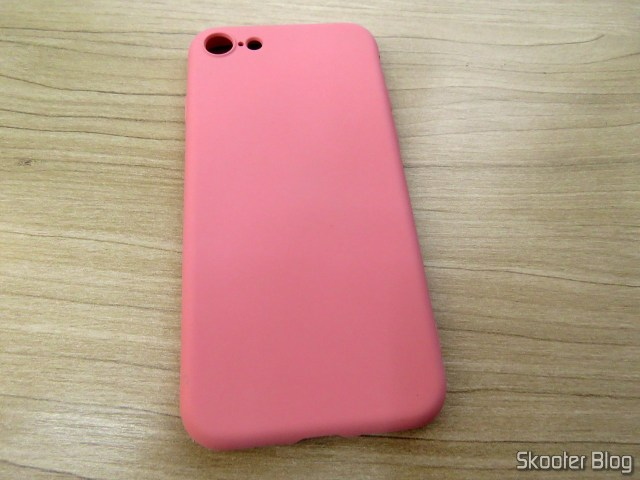 Silicone case for iPhone 7 My Choice.