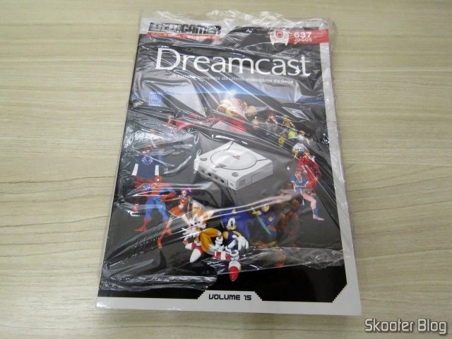 Dossier OLD!Gamer: Dreamcast - Volume 15 (REPLACEMENT), on its packaging.