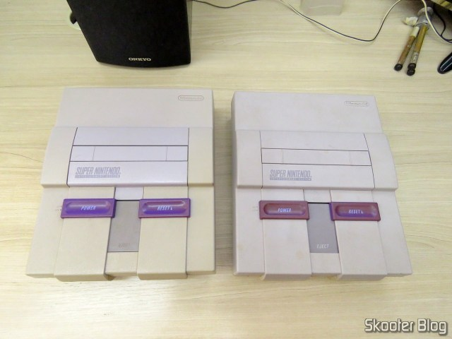 The two Super Nintendo, as they returned.