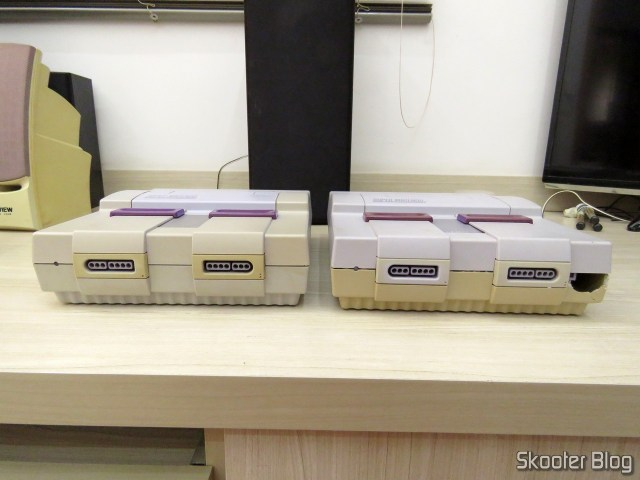 The two Super Nintendo, as they returned: up shares exchanged.