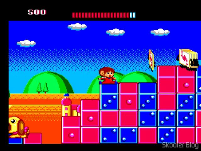 Alex Kidd The Lost Stars - Master System.