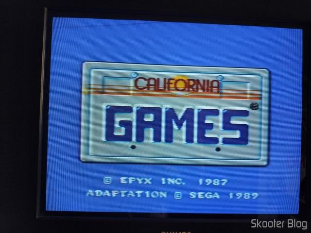 Jogos de Verão (California Games) no Master System.
