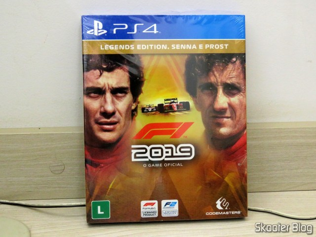F1 2019 Legends Edition - Senna's Prost - PS4 - Playstation 4 - Formula 1.