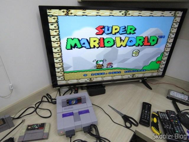 Super Nintendo Original NTSC PCB SHVC-CPU-01 CPU/PPU1/PPU2 1/1/1, operation.