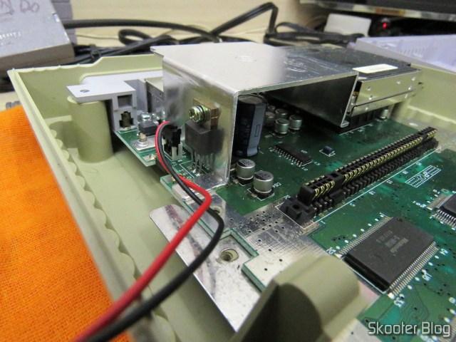Super Nintendo Original NTSC PCB SHVC-CPU-01 CPU/PPU1/PPU2 1/1/1 por dentro.