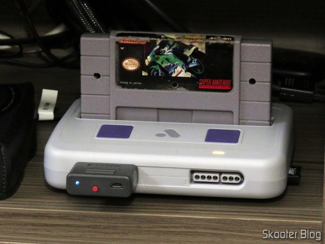 The Cartucho wasaki not perbike Challenge, the Super Nintendo, They are tested after cleaning.