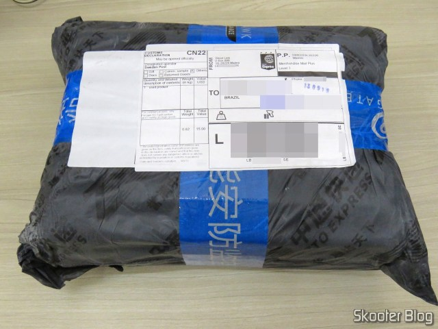 Package with HDD Western Digital 4TB Blue WD40EZRZ.